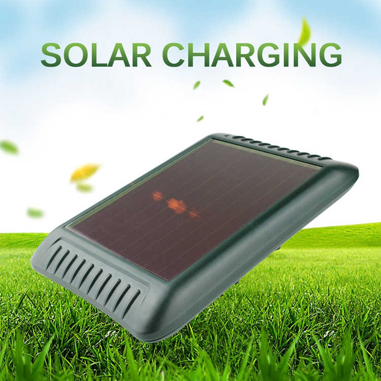 Solar Powered Animal Repeller Waterproof PIR Sensor Outdoor Garden Anti Cat Dog USB Ultrasonics Solar Alarm Drive Repeller