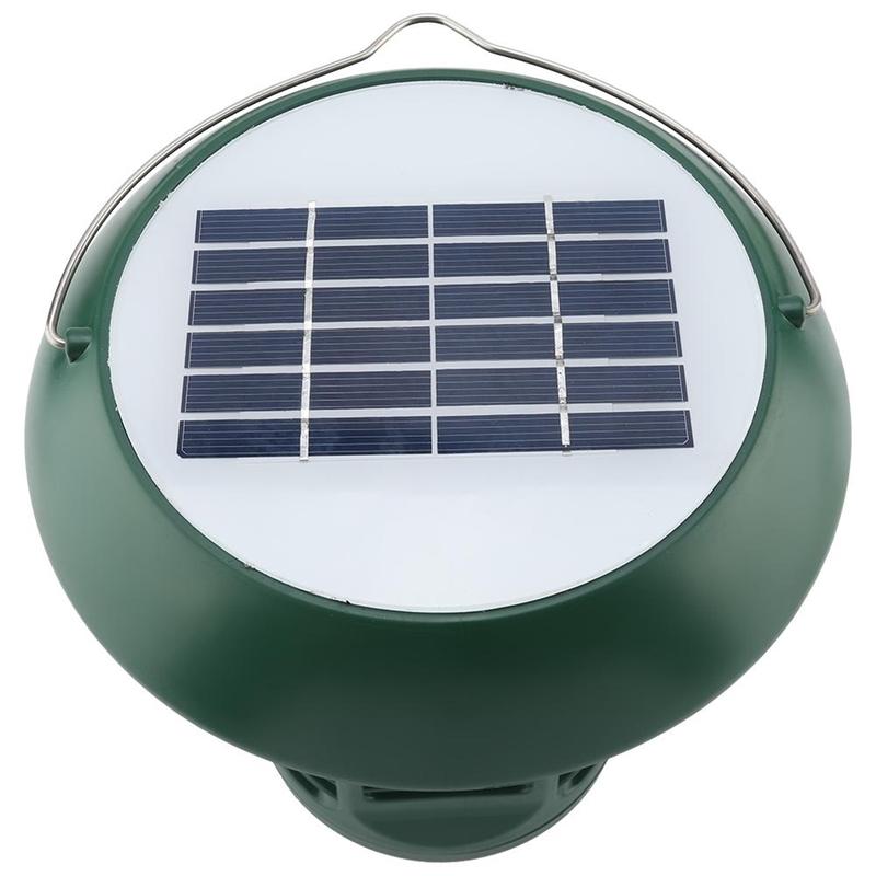 Solar Power Waterproof Garden LIght Mosquito dispeller Insect Zapper Repellent Trap Lawn Step Lamp Mosquito Killer Outdoor