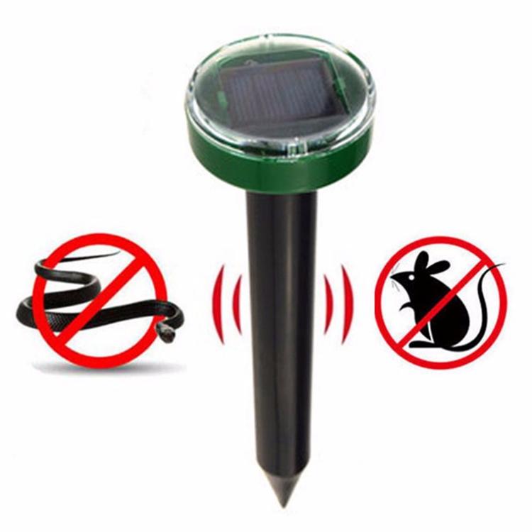 Solar Outdoor Garden Mole Repellent Solar Power Ultrasonic Mole Snake Bird Mosquito Mouse Ultrasonic Pest Repeller Control